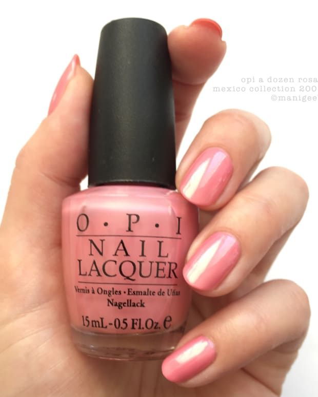 OPI A Dozen Rosas_OPI Mexico Collection 2006