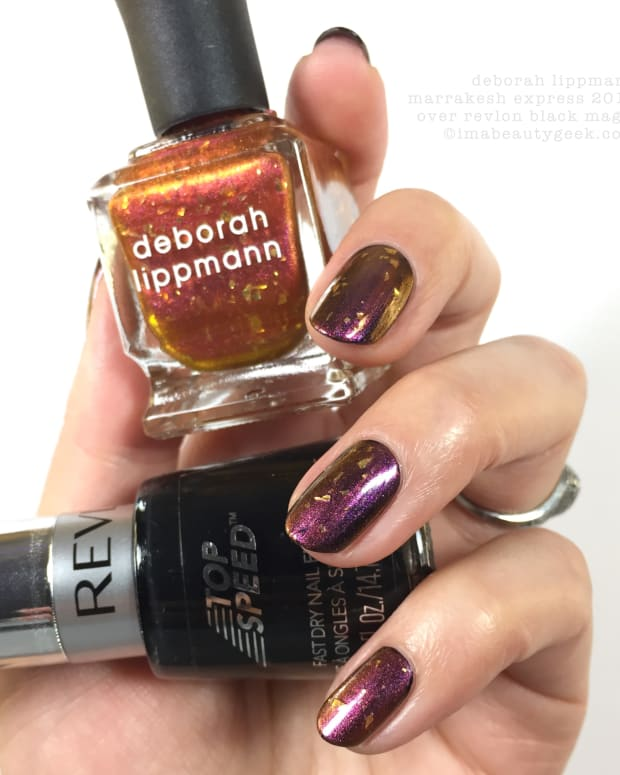 Deborah Lippmann Marrakesh Express 2014 over Black