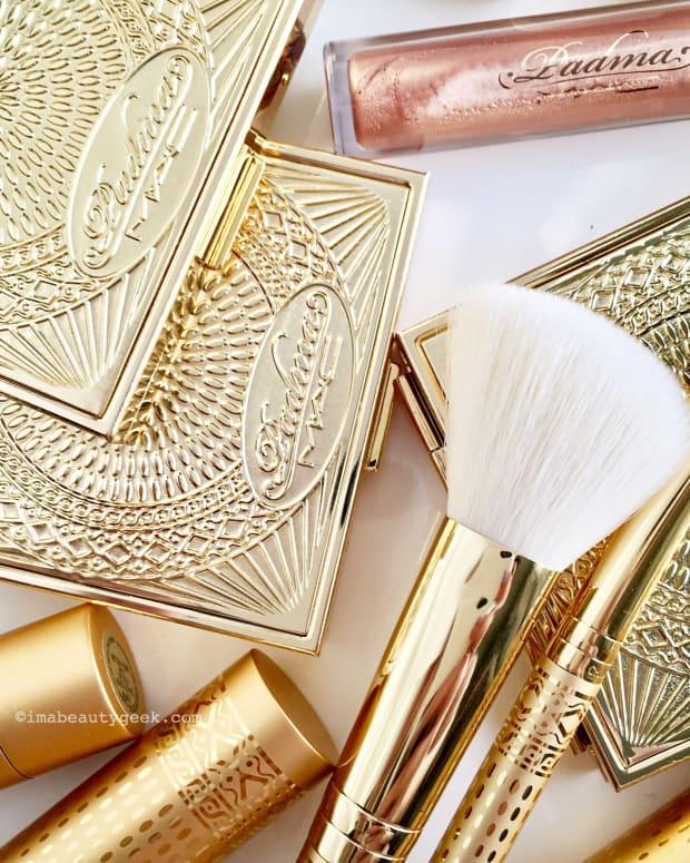 MAC Padma Lakshmi compacts and lipsticks and brushes