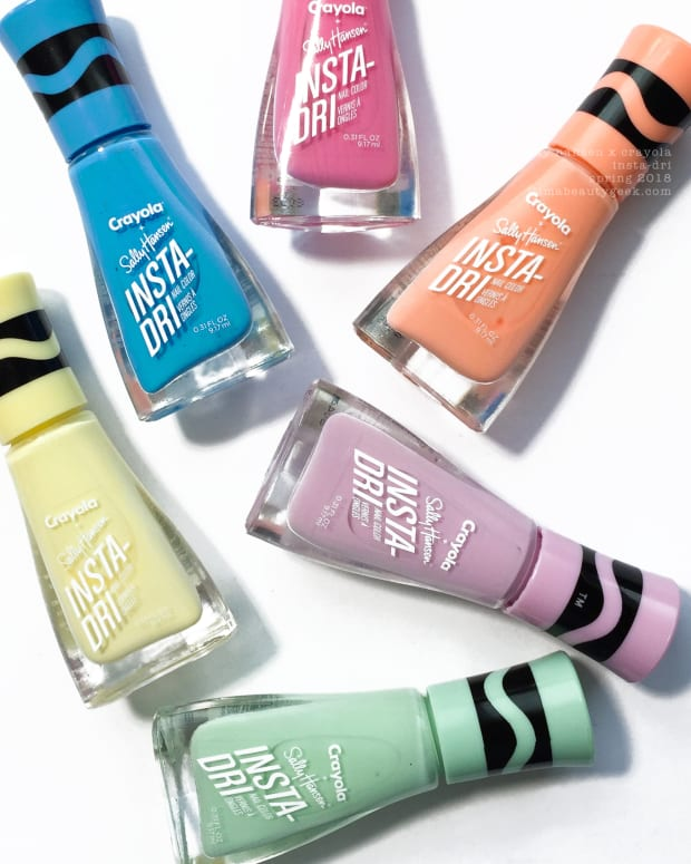 Sally Hansen Crayola Pastels InstaDri 2018 Collection