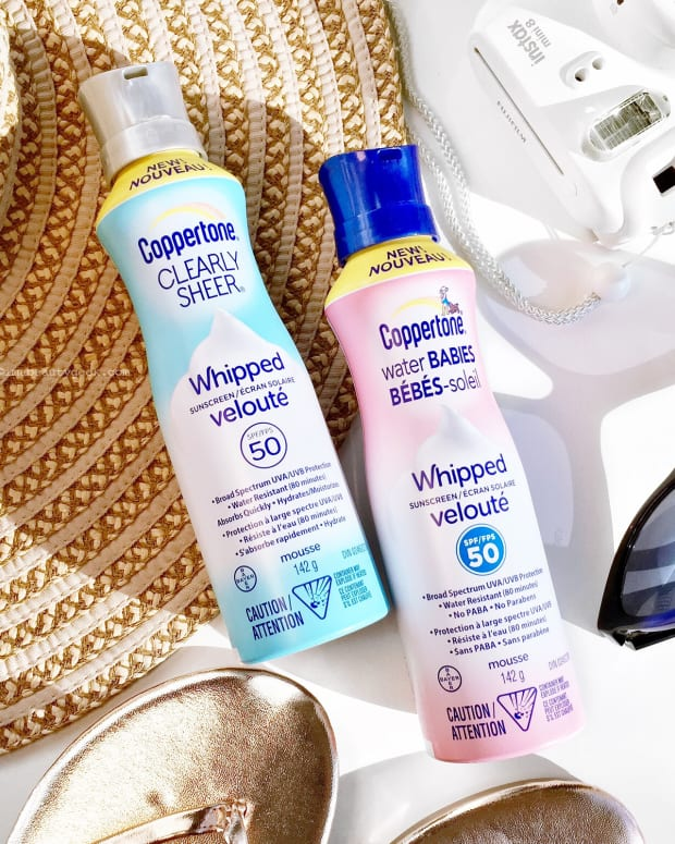Coppertone Whipped Sunscreens SPF 50_Clearly Sheer and Water Babies (fragrance-free)