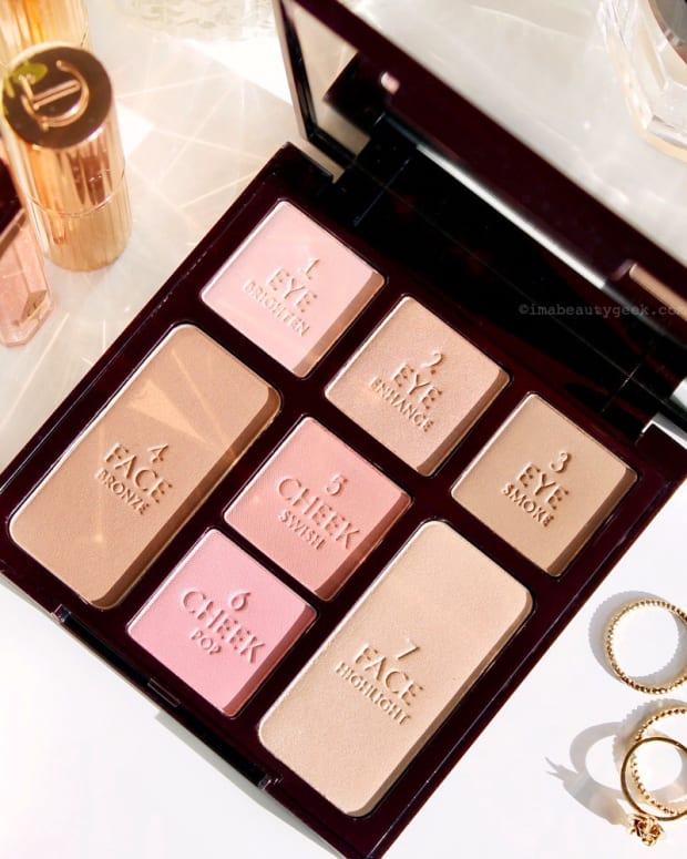 Charlotte Tilbury Natural Beauty Instant Look in a Palette_cool toned eye shadow