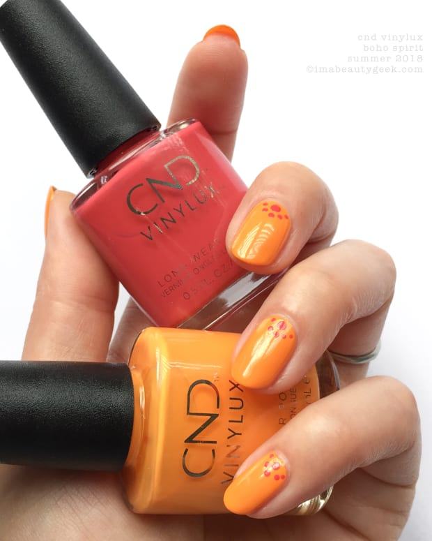 CND Vinylux Boho Spirit Collection Swatches Summer 2018