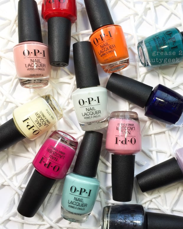 OPI Grease Collection 2018 Swatches Review Beautygeeks