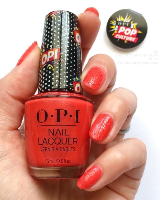 OPI Pop Culture Collection Swatches Review 2018