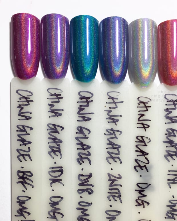 China Glaze OMG Flashback Collection Swathes Review 2018