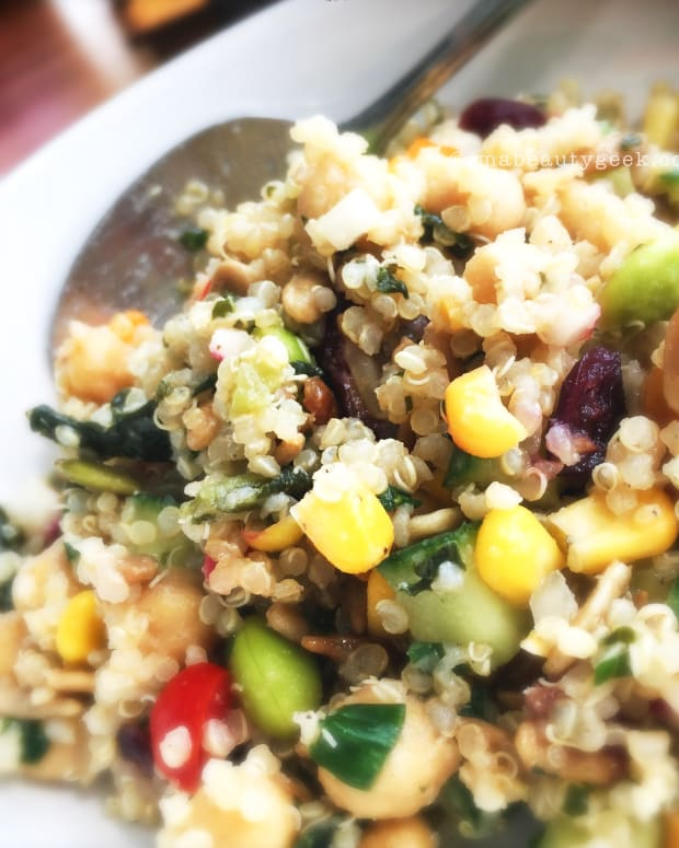 Manigeek's Quinoa Salad Header