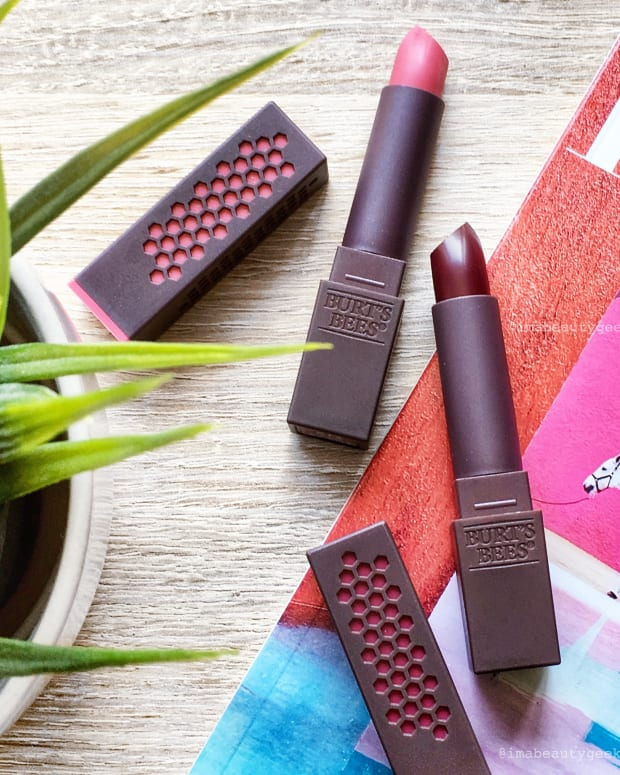 Burt's Bees lipstick crop