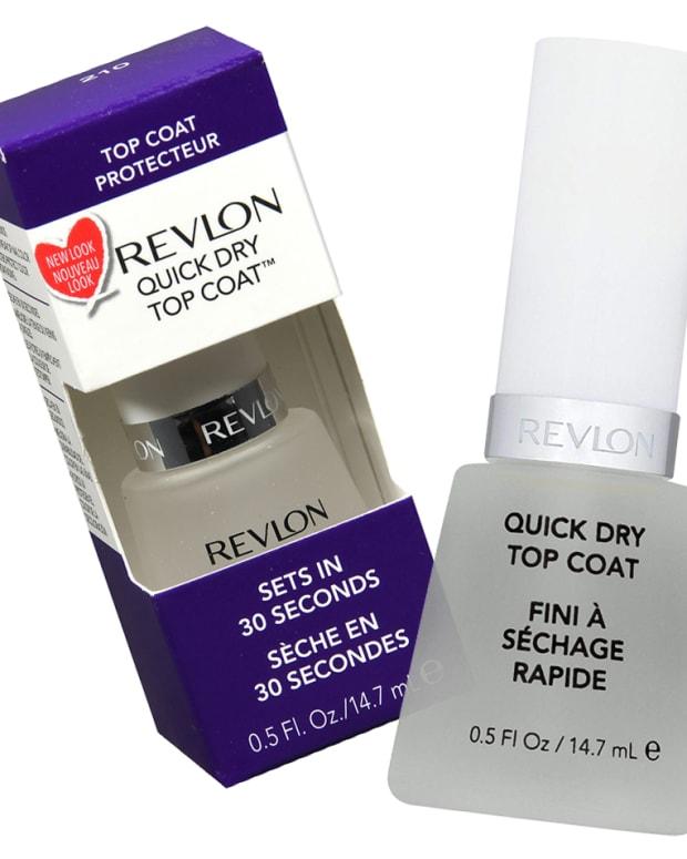 best budget fast-dry top coat_Revlon Quick Dry Top Coat