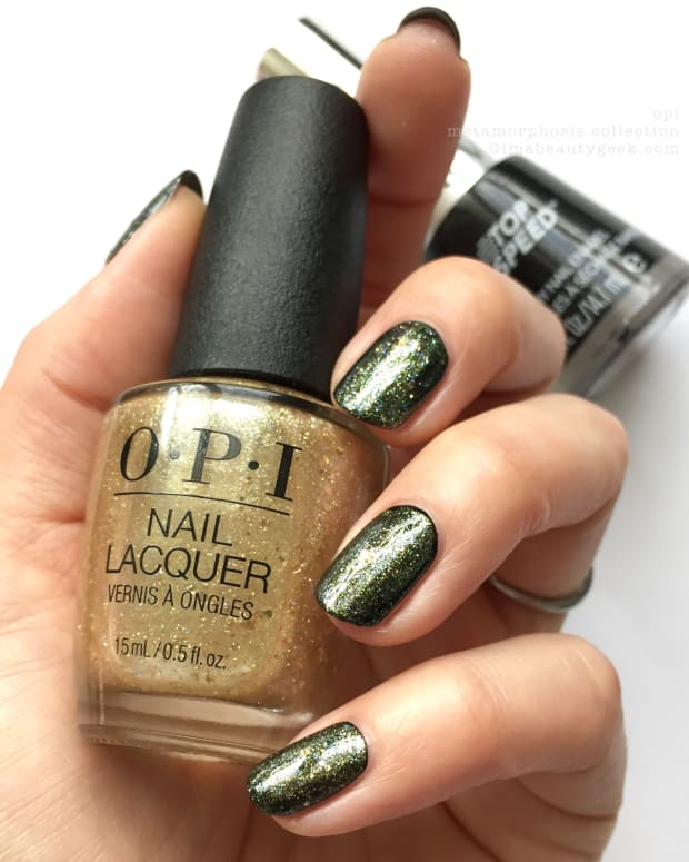 OPI Metamorphosis Collection Swatches Review Fall 2018