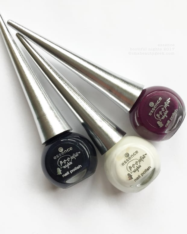 Essence Bootiful Nights Halloween Collection Swatches