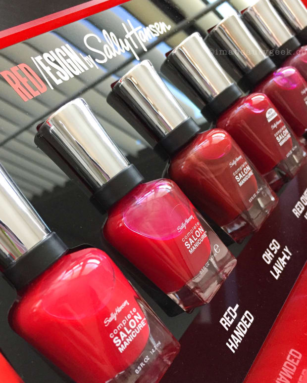Sally Hansen Red/esign Collection Swatches Review 2018