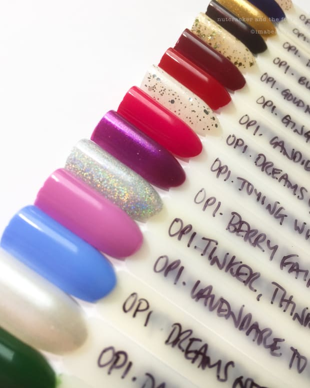 Opi Nuter And The Four Realms Swatches Review Holiday 2018 Collection H1 Nails