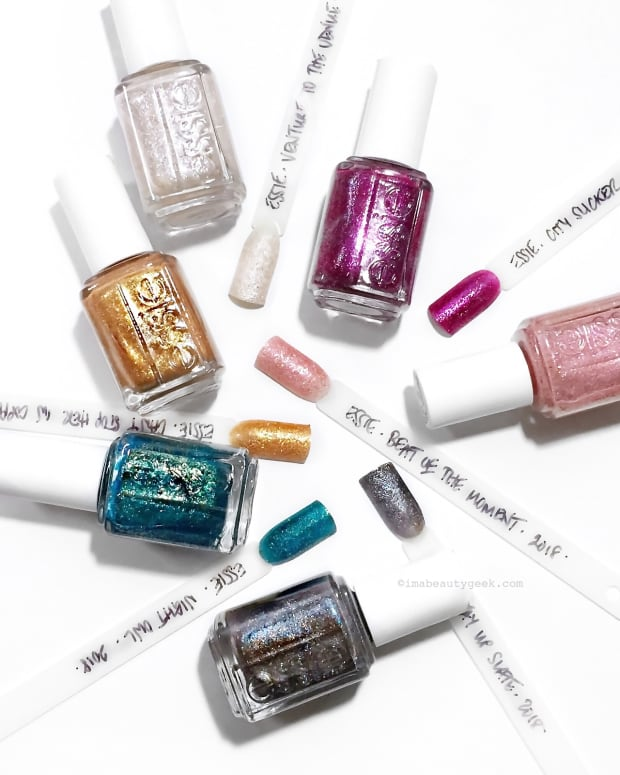 Essie Concrete Glitters giveaway for Canadians bottle shot