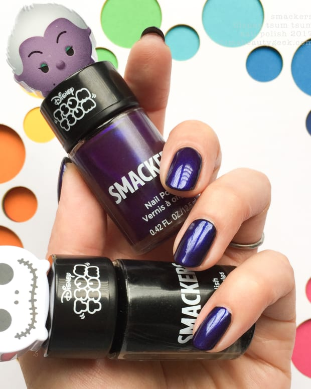 LIP SMACKERS TSUM TSUM NAIL POLISH DISNEY VILLAINS HALLOWEEN 2017