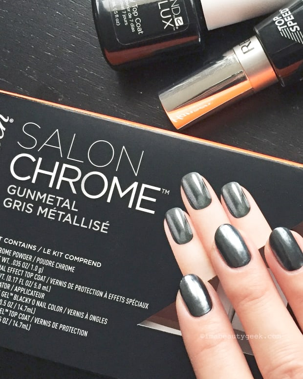 Sally Hansen Salon Chrome Kit: Tips on How to Use it Best (and a DIY Chrome FAIL) Video