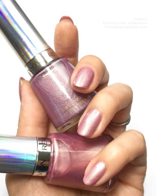 Revlon Holochrome Nail Polish Collection Swatches Manigeek