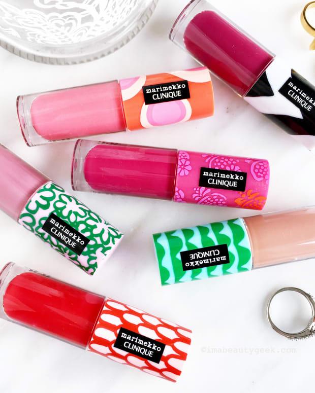 Marimekko for Clinique Pop Splash Lip Gloss-BEAUTYGEEKS