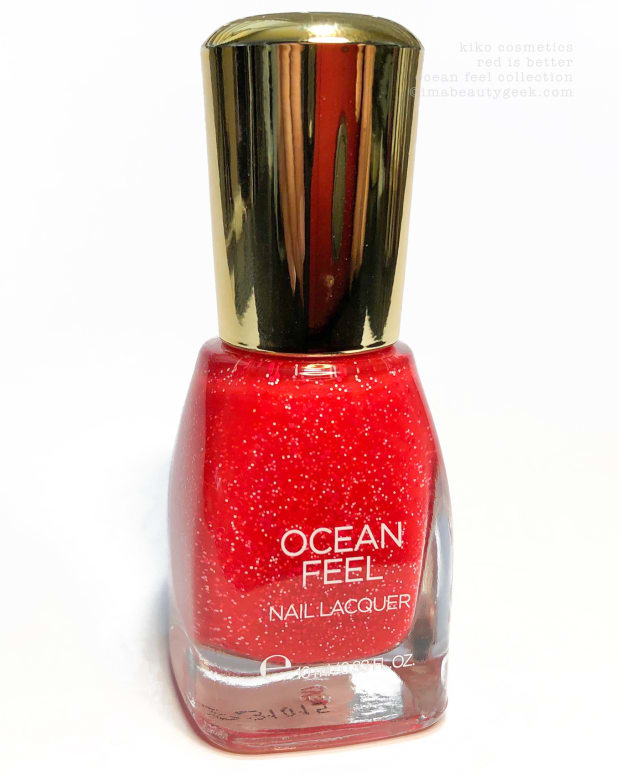 Kiko Cosmetics Red is Better Ocean Feel Nail Lacquer