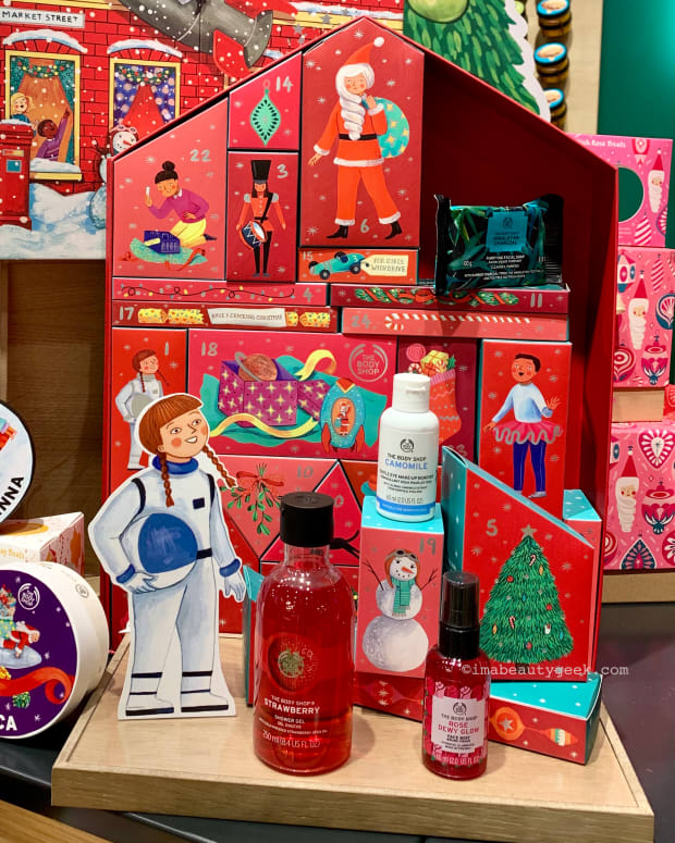 The Body Shop Advent Calendar holiday gifts