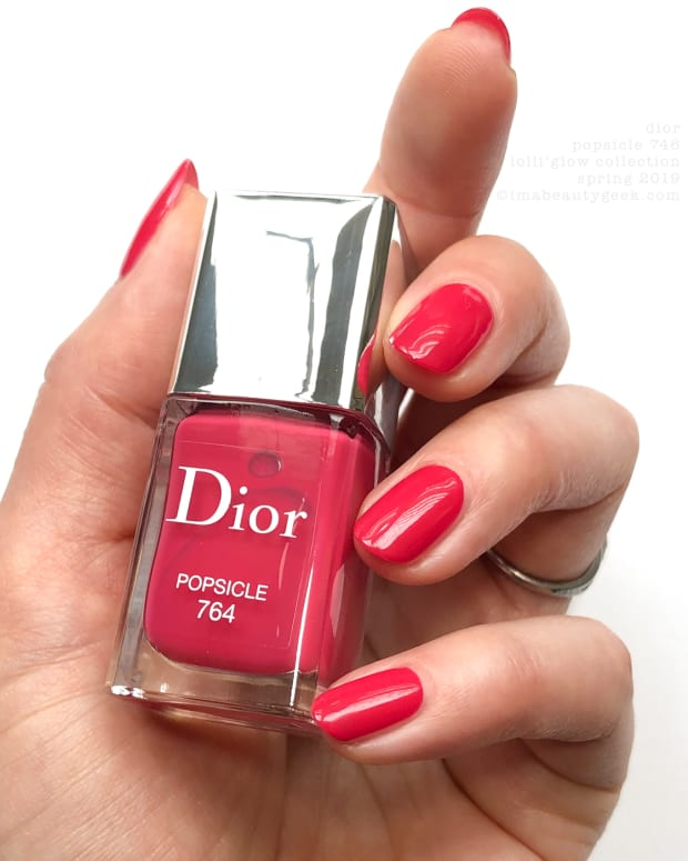 Dior Lolli'Glow Nail Vernis Collection Swatches Review Spring 2019