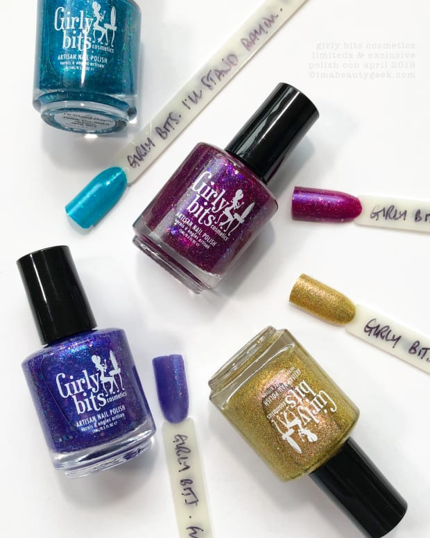 Girly Bits Polish Con April 2019 Exclusive and Limited Edition Shades