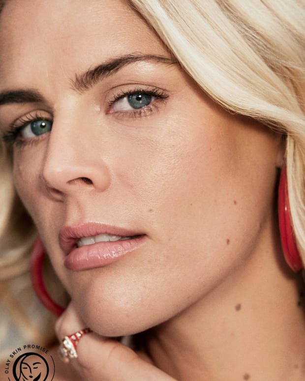 Busy Philipps unretouched for Olay cropped