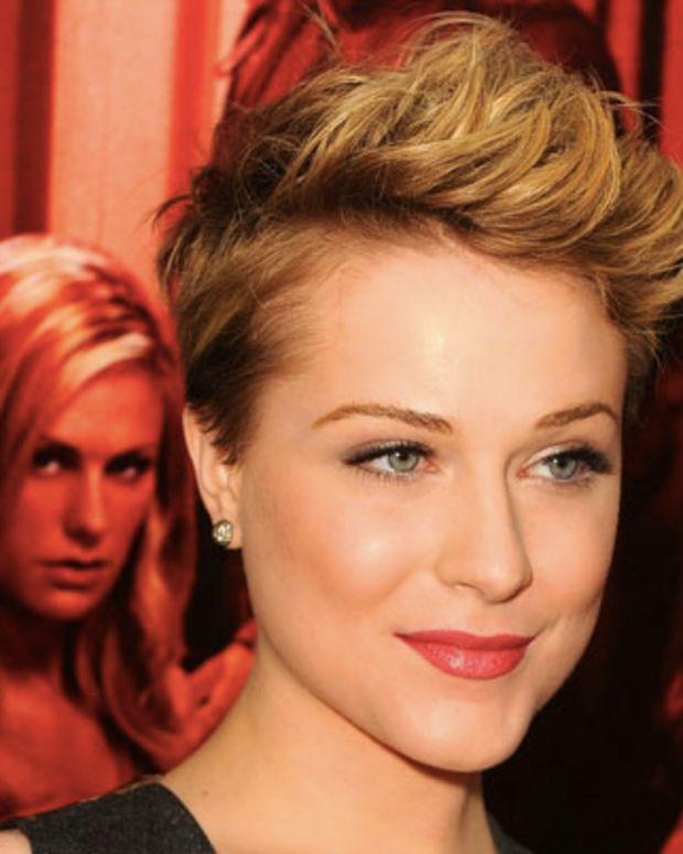 Evan Rachel Wood cuts her hair