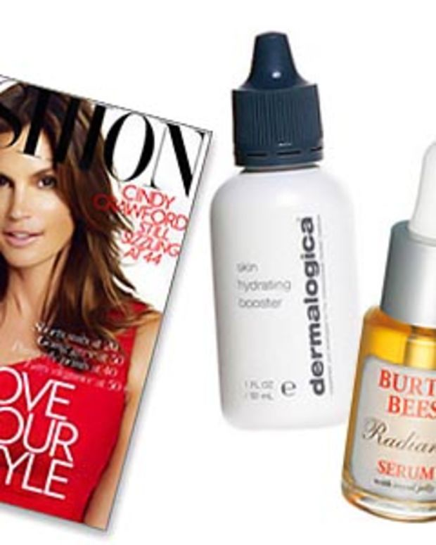 Serums story in Fashion Magazine