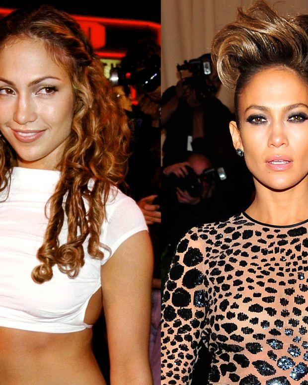 Jennifer Lopez 1999 and 2013