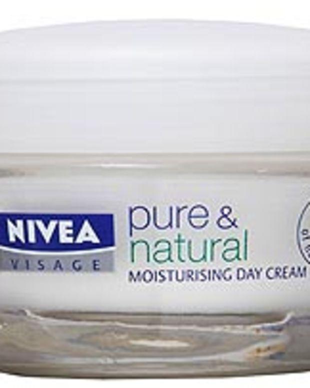 Nivea-pure-and-natural face cream