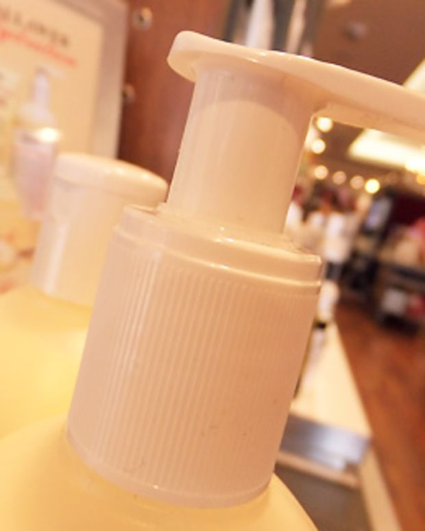 Pump bottle_Kiehl's Crème de Corps