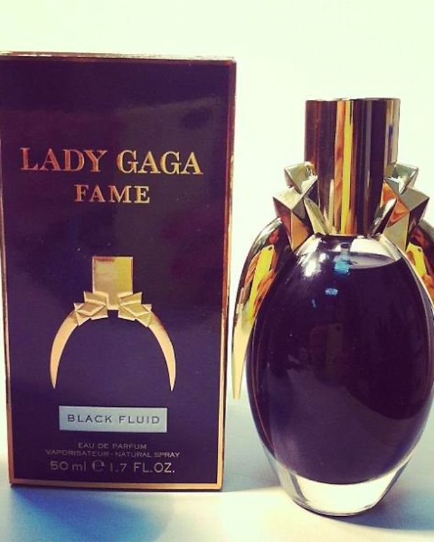 Lady Gaga Fame Black Fluid_via LadyGaga tweet