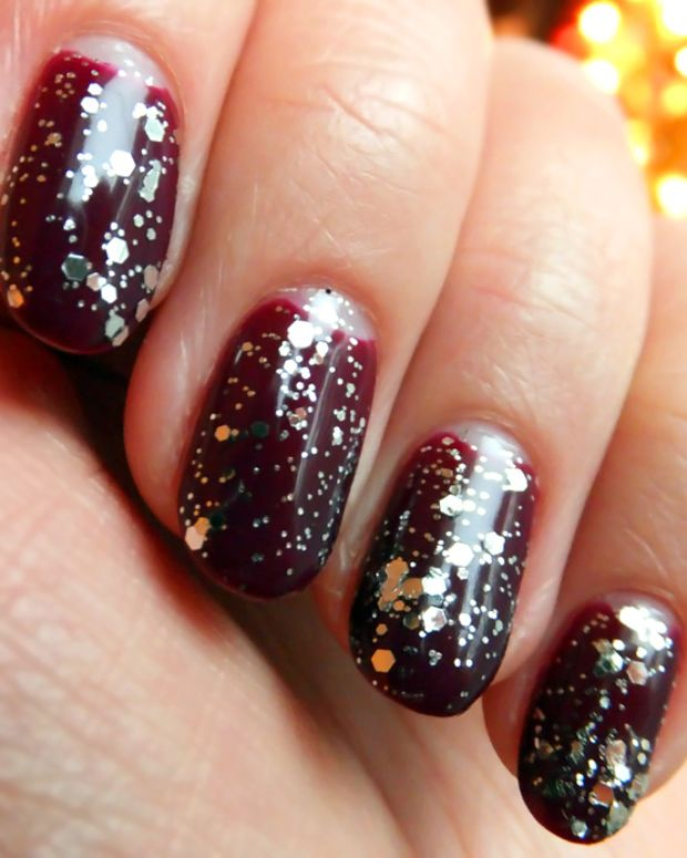 Artistic Colour Gloss_Majestic and Essie Luxeffects Top Coat_Set in Stones
