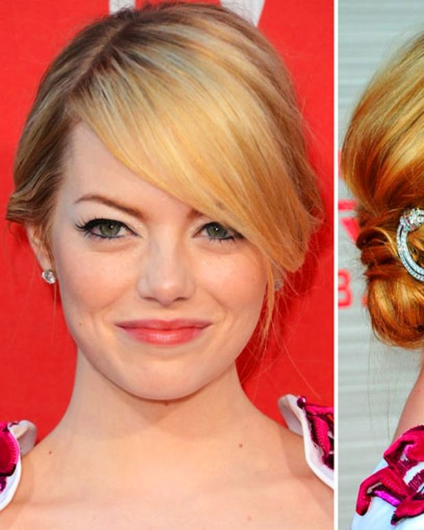 Emma Stone_hair and makeup_Spiderman_LA