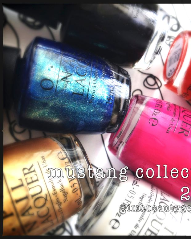OPI Mustang Collection 2014