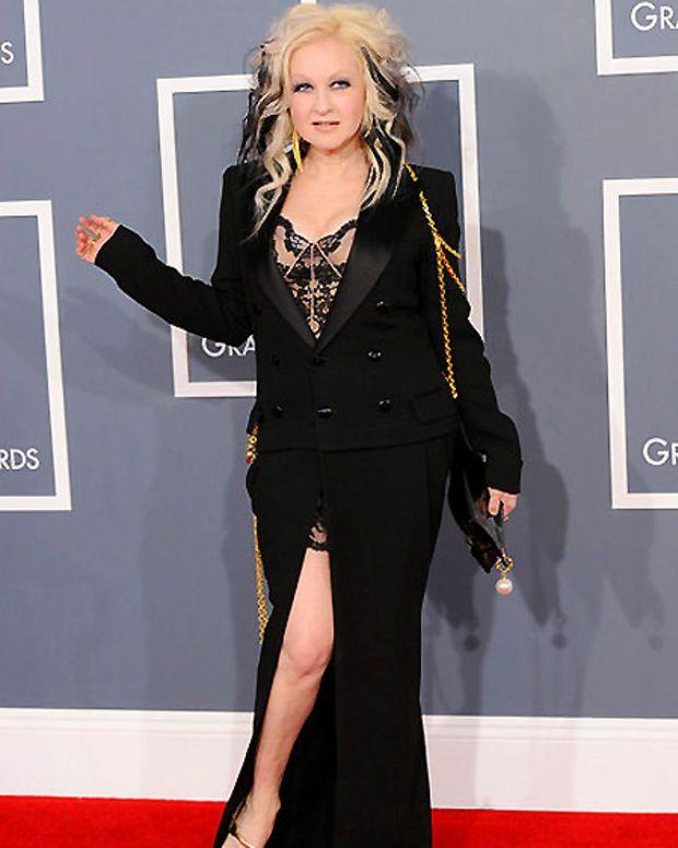 Cyndi Lauper_Grammy Awards 2012