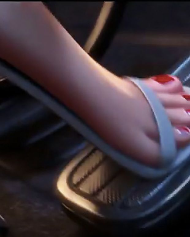 Despicable Me 2_Agent Lucy Wild's pedicure