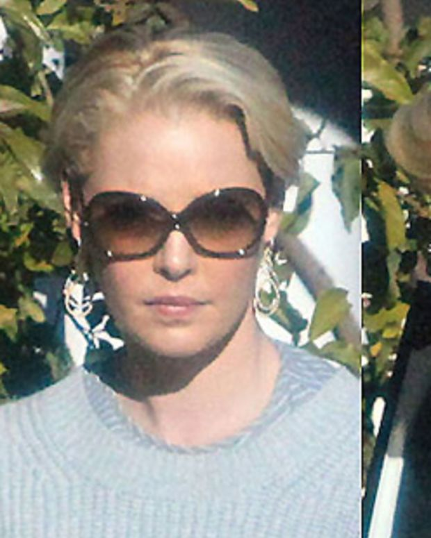 Katherine Heigl's new short hair