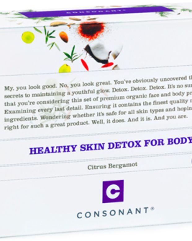 Consonant Healthy Skin Detox Kit for Body