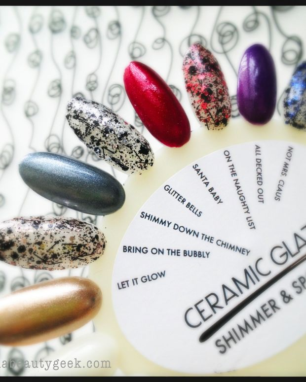 Ceramic Glaze Shimmer & Sparkle Holiday 2013