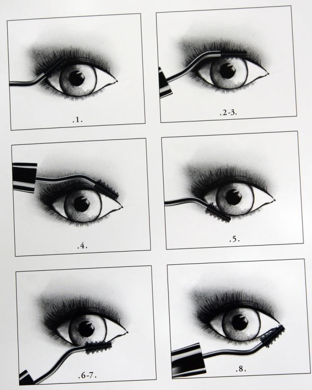 Lancome Grandiose mascara review video_application sketches