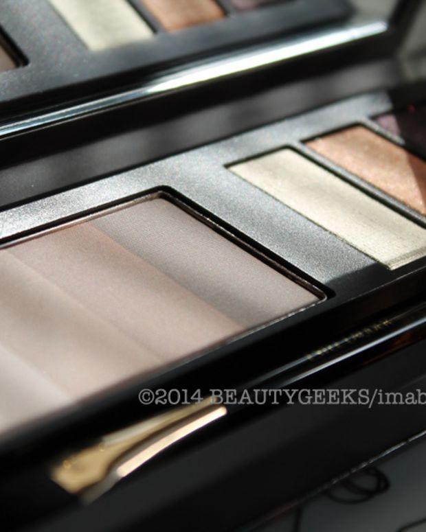 Estee Lauder Bronze Goddess Nudes eye shadow palette summer 2014