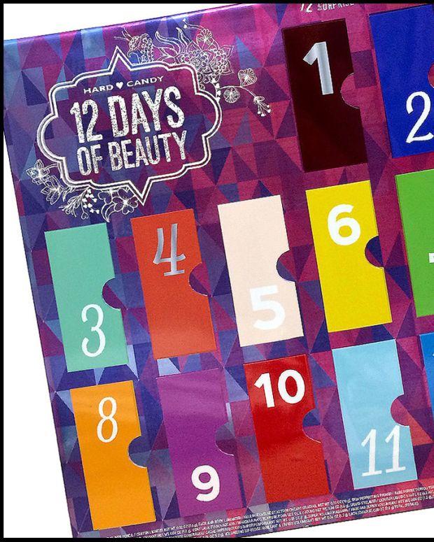 advent calendars 2014_Hard Candy 12 Days of Beauty_pseudo advent calendar 2014