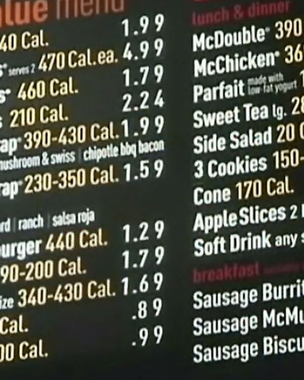 McDonalds menu board_USA