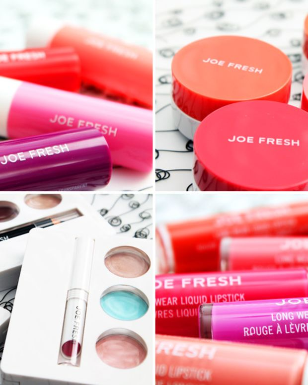 Joe Fresh Spring 2014 makeup