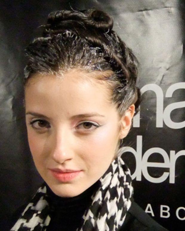 Marie Saint Pierre beauty look Montreal Fashion Week Fall_Winter 2010