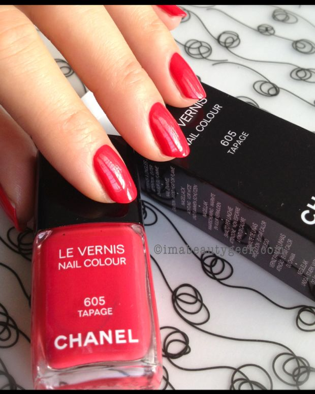 Chanel Tapage 605 Spring 2014