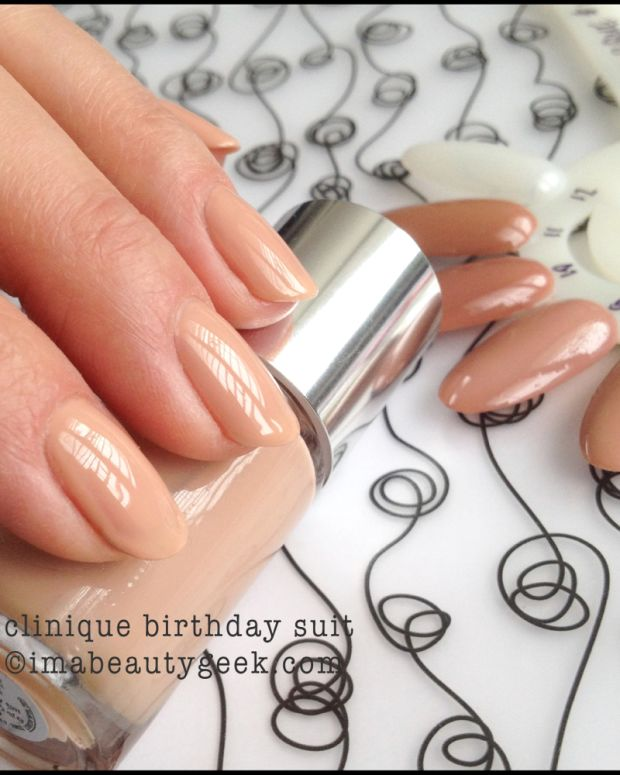 Clinique Nail Polish Nude Birthday Suit