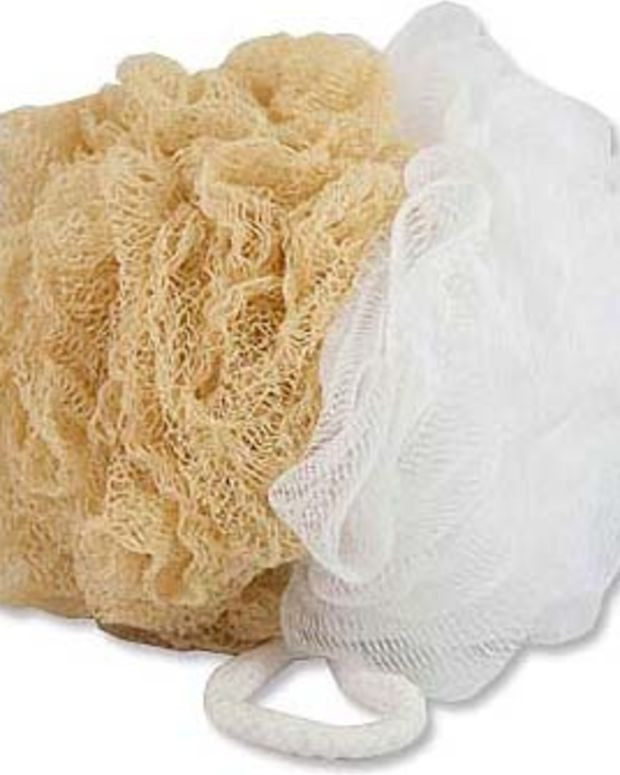 Upper Canada Soap Ultimate Body Sponge $5